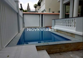 Villa for rent at Thao Dien 1 ground floor 2 floor garden terrace swimming pool