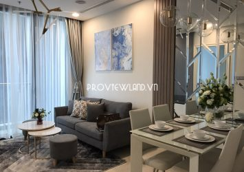 Apartment for rent at Aqua 2 Vinhomes Golden River consists of 2 bedrooms