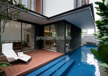 Holm Villas luxury riverside villa in Thao Dien 450m2 new furniture