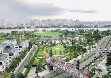 Sale of one bedroom high floor apartment in Vinhomes Central Park project