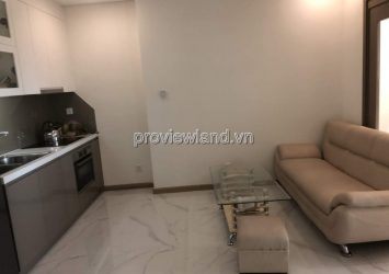 Apartment for rent in Vinhomes Binh Thanh District in Landmark 81 tower 55m2 1BRs