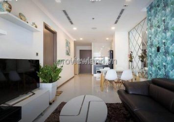 Quick rent apartment 2 bedrooms Vinhomes high floor river view