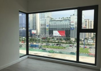 New apartment for rent at Gateway Thao Dien 90.8m2 2 bedrooms low floor