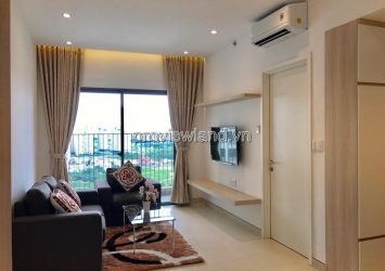 Apartment for rent at Masteri Thao Dien 2BRs high floor city view full furniture