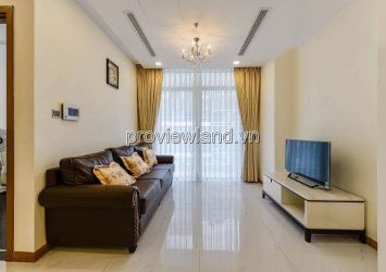 Apartment for rent at Vinhome Centarl Park 3BRs full furniture high floor