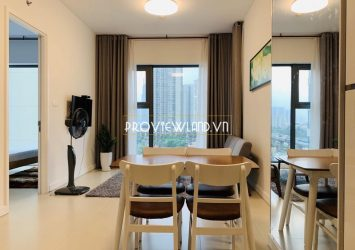 One bedroom apartment at Gateway Thao Dien for rent luxury furniture