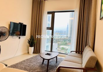 Apartment for sale one bedroom at Gateway Thao Dien luxury furniture