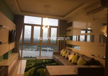 For rent apartment river view high floor at T4 tower The Vista An Phu
