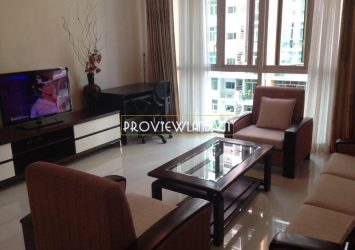 Apartment for rent at The Vista An Phu low floor view pool