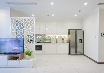 Vinhomes Tan Cang has a serviced apartment need for rent at Landmark 5