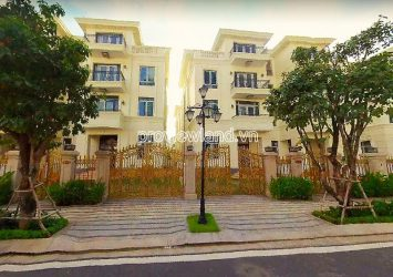 Villa for sale in Vinhomes Ba Son 225m2 1 basement 1 ground floor and 3 floors