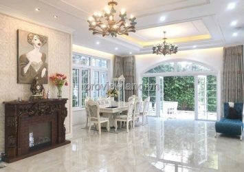 Need to rent fast Xuan Thuy Street Villa 600m2 1 ground 2 floors