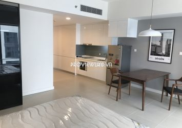 High floor Studio apartment for rent at The Aspen Gateway Thao Dien