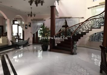 Thao Dien villa for sale in District 2 covers an area of ​​1200m2 with a large pool and garden