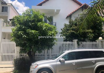 Selling Luong Dinh Cua villa District 2 with area of 442m2 5 bedrooms beautiful furniture