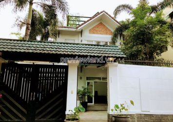 Fideco Thao Dien villa for sale area 362m2 1 ground 2 floors 5 bedroom full interior