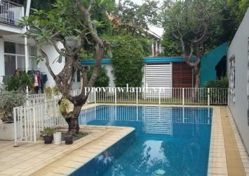 Villa for sale riverfront Thao Dien Fideco1 ground 2 floors area 503m2 with private pool