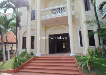 Villa Thao Dien for sale with an area of 647m2 1 ground 1 floor with private pool