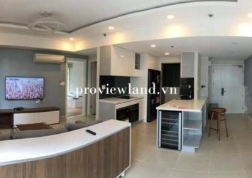 Apartment for sale Duplex Masteri Thao Dien 3 bedrooms corner full house with new interior