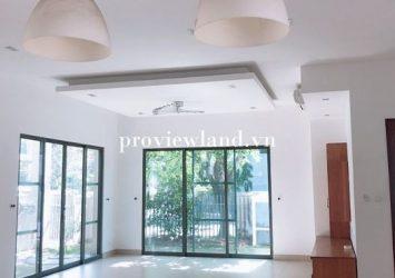 Need to rent Villas Riviera District 2 1 ground 2 floors new house  floor interior basic