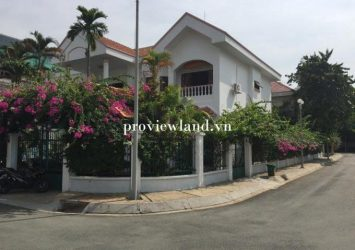 For rent Green feild villa in Tran Nao District 2 1 ground 2 floors 600m2 5 bedrooms