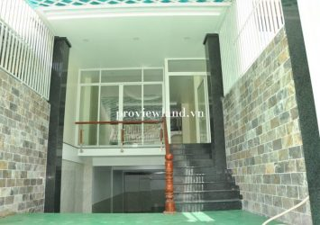 House Newly built for rent 1 ground 3 floor 8 bedrooms area 336m2 at Giang Van Minh street District 2