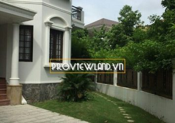 Thao Dien Villa 400m2 swimming pool 4 bedrooms 3 floors for rent