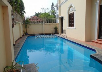 Villa Thao Dien for sale with 2 fronts corner Road 46 area of ​​647m2 with 2 floors with swimming pool