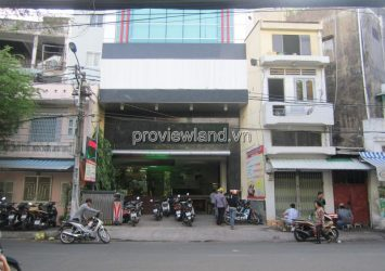 Town ​​house for sale front of Cach Mang Thang Tam street District 3 area 138m2