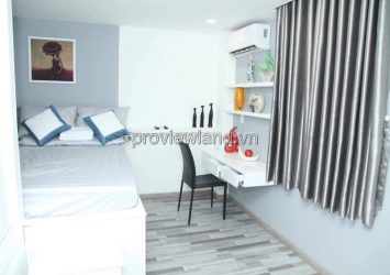 Luxury serviced apartment for rent in District 1 Suong Nguyet Anh facade