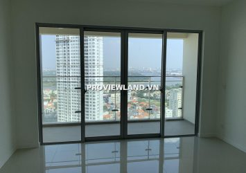 Apartment Estella Heights 3 bedroom for rent with area 129m2 basic interior