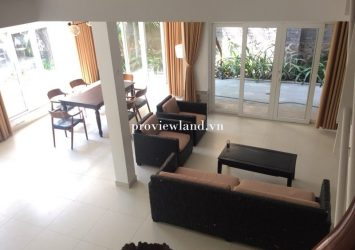 House for rent with area 190m2 4 bedrooms full furniture in Quoc Huong street Disitrict 2