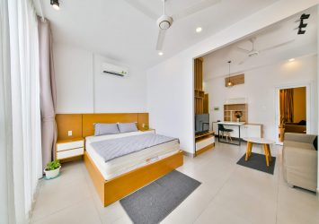Serviced apartment Proview'house for rent in Thao Dien area 40m2 1 bedroom fully furnished
