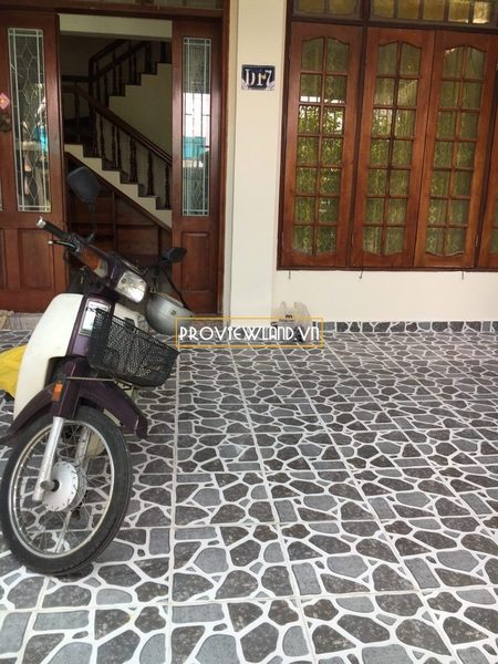 Townhouse villa for rent at District 7 Nam Hung Phu Thuan
