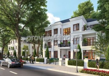 Selling 3 villas Vinhomes Tan Cang 1 tunnel + 1 ground + 2 floors with extremely reasonable price