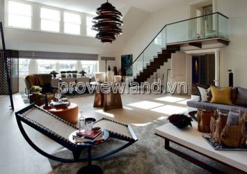 Selling ​​Penthouse Masteri Thao Dien 325m2 with garden 3BRs tower T3