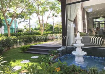 Lucasta villa for sale in District 9 with 2 fronts of 261m2 2  floors fully furnished