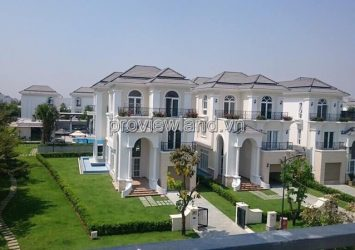 The Venica Khang Dien villa for rent 4BRs 2 floors full furniture