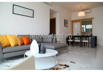 The Vista District 2 apartment for rent has 4BRs high floor fully furnished
