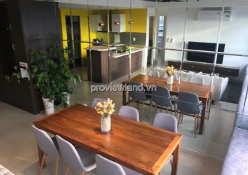 Apartment for rent in Masteri Thao Dien with 3 bedrooms Luxury interior river view