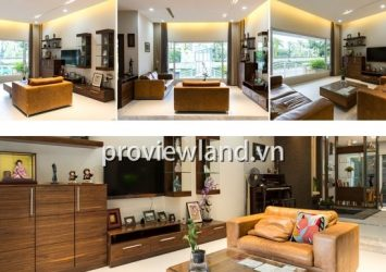 Saigon Pearl villa for rent 7x14m 5 bedrooms with super nice furniture