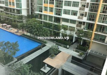 Apartment for rent The Vista 2 bedrooms 101m2 high-class interior view pool