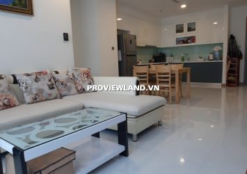Apartment Vinhomes Central Park Landmark 6 for rent 2 bedrooms city view full interior