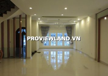 Villa Saigon Pearl for rent area 7x21 1 ground floor 2 floors 4 bedrooms at Binh Thanh District