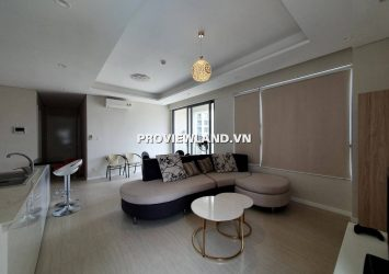 Apartment for rent in Diamond Island 2 bedrooms full interior view pool