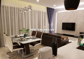 Apartment for rent with 2 bedrooms high class furniture at Gateway Thao Dien