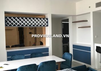 Gateway Thao Dien apartment for rent 3 bedrooms Syle modern full of river view furniture