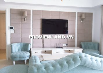 Apartment for rent  3 bedrooms full furnished 90sqm river view at Masteri Thao Dien