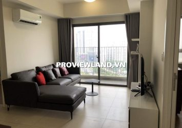 Masteri Thao Dien apartment for rent with 2 bedrooms full of airy interior view