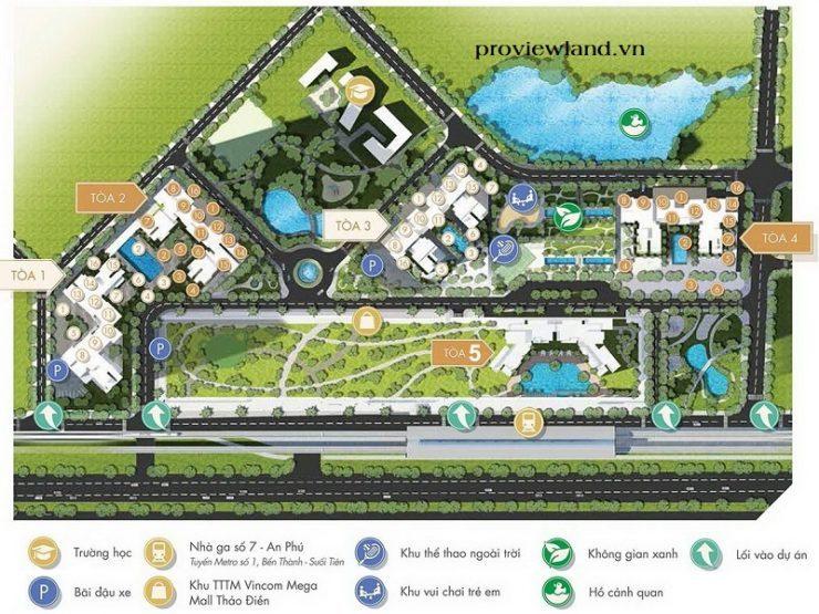 Masteri Thao Dien facilities